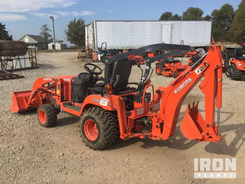 2014 kubota bx25dlb 4x4 farm tractor for sale 88 hours mountain home ar. Black Bedroom Furniture Sets. Home Design Ideas