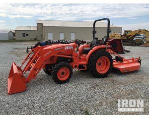 Kubota L2501D 4x4 Farm Tractor