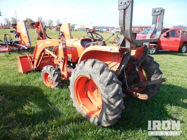2015 kubota l2501d 4x4 farm tractor for sale 368 hours springdale ar 9106908. Black Bedroom Furniture Sets. Home Design Ideas