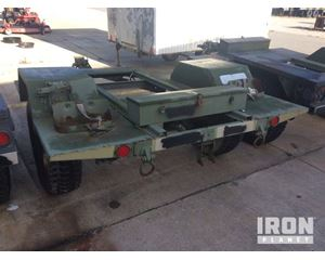 US ARMY Tank Automotive Command S/A Trailer Chassis