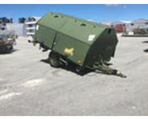 Indespension Moskit Enclosed Utility Trailer