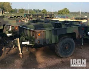 Raytheon M1101 Cargo Trailer