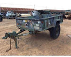 US ARMY Tank Automotive Command M11A2 Cargo Trailer