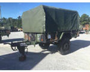 US ARMY Tank Automotive Command M13A3 Cargo Trailer