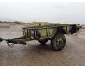 US ARMY Tank Automotive Command M15A2 Cargo Trailer