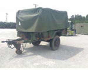 US ARMY Tank Automotive Command M105A2 Cargo Trailer