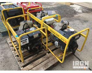"""Lot of (3) Wacker Neuson PT3A 3"""" Water Pumps"""