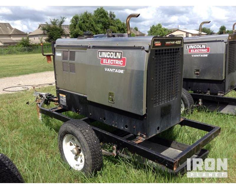 2009 lincoln electric vantage 400 engine driven welder for. Black Bedroom Furniture Sets. Home Design Ideas