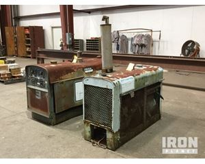 Lot of (2) Lincoln Electric Engine Driven Welders