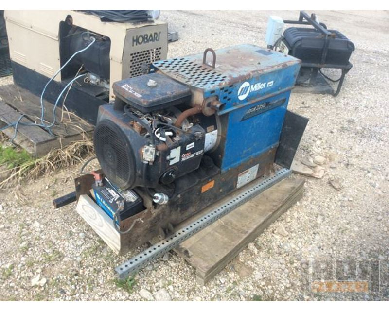 miller bobcat welding machine