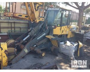 Komatsu WA250PT-5 Wheel Loader - Suitable for Parts
