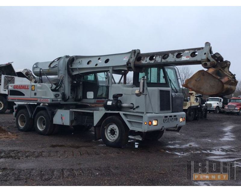 2003 Gradall Xl4100 Series Ii Highway Wheeled Excavator