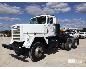 AM General M916 6x6 T/A Winch Truck