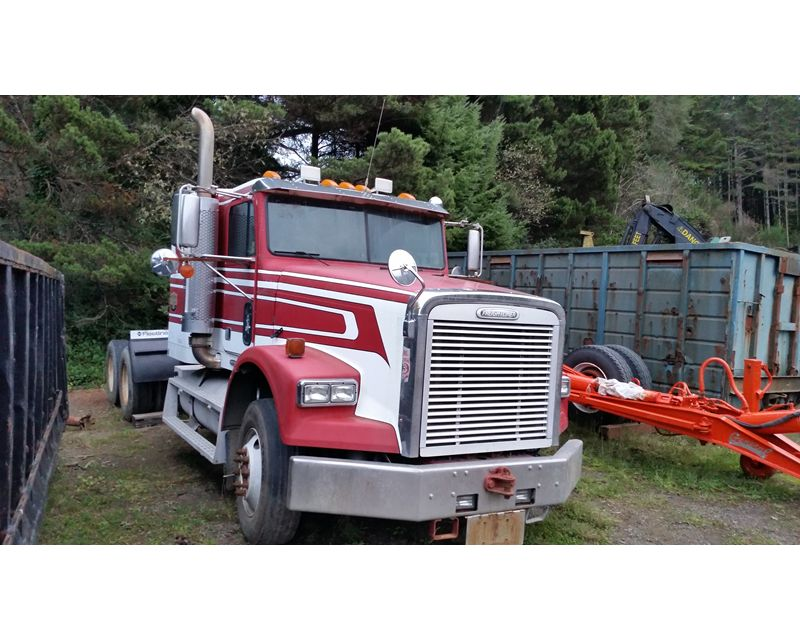 1999 freightliner glider truck for sale florence or. Black Bedroom Furniture Sets. Home Design Ideas