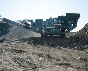 Powerscreen 1100x800 Mobile Crusher
