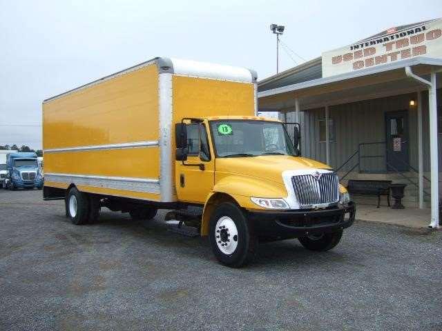 2013 international 4300 box truck for sale 108 000 miles shreveport la 268422. Black Bedroom Furniture Sets. Home Design Ideas