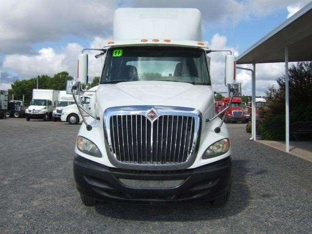 2011 international prostar plus day cab semi truck for sale 136 000 miles shreveport la. Black Bedroom Furniture Sets. Home Design Ideas
