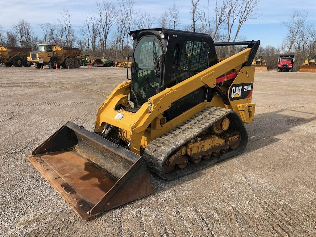 2015 Caterpillar 289D Forestry Mulcher For Sale, 2,765 Hours | Verona, KY |  T10249 | MyLittleSalesman com