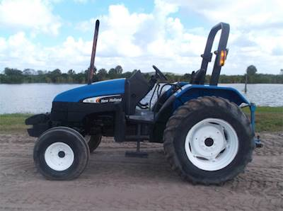 2003 New Holland TL80 Tractor