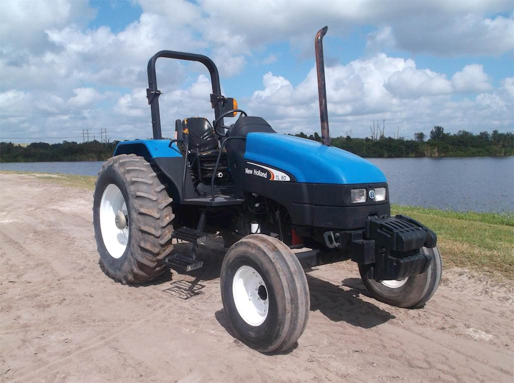 2003 New Holland Tl80 Tractor For Sale