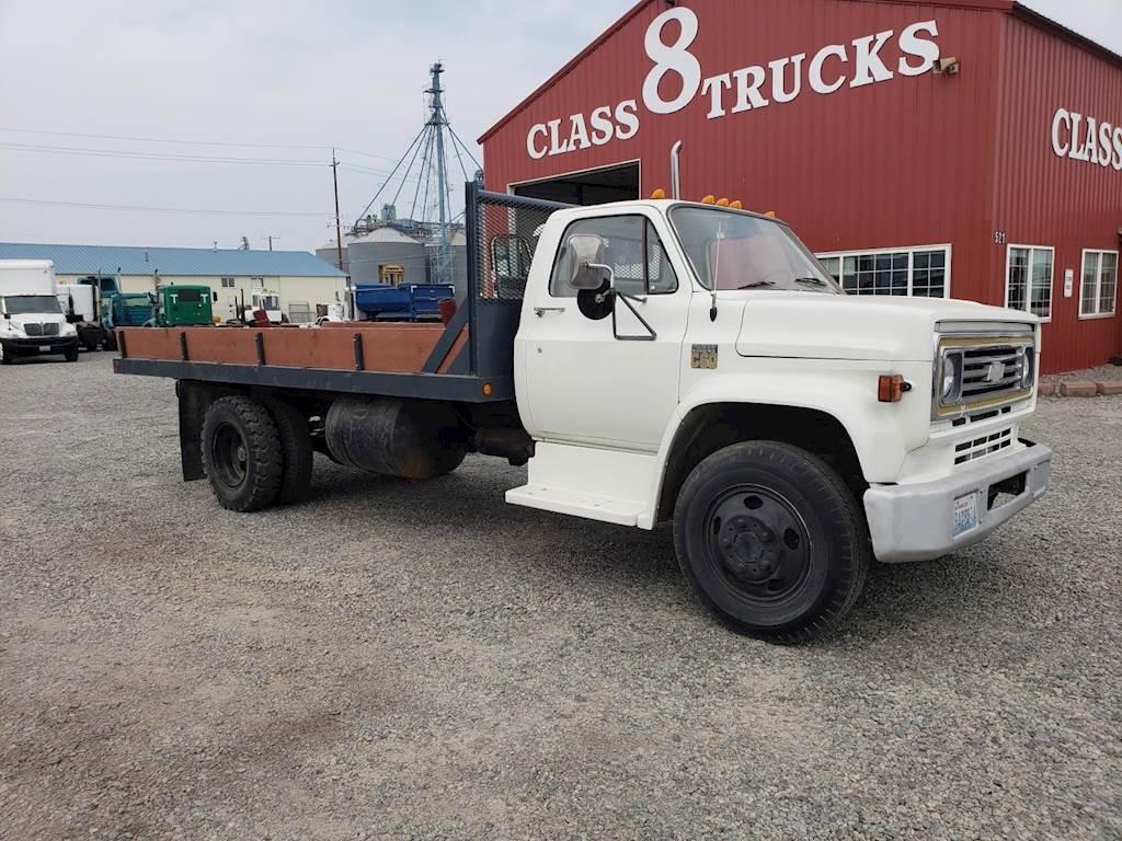 1974 Chevrolet C60 Flatbed Dump Truck For Sale Spokane