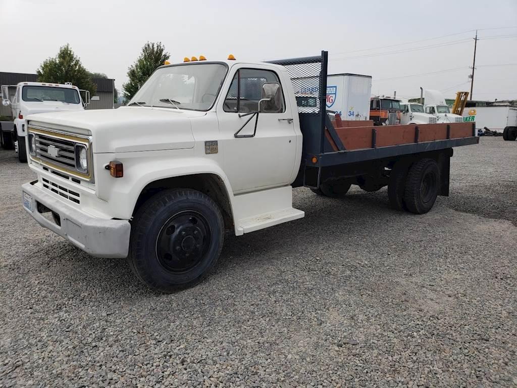 1974 Chevrolet C60 Flatbed Dump Truck For Sale Spokane Wa 1961 Ford