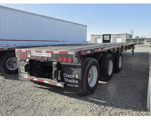 Transcraft 3-Axle Flatbed Trailer
