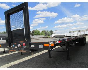 Transcraft Flatbed Trailer