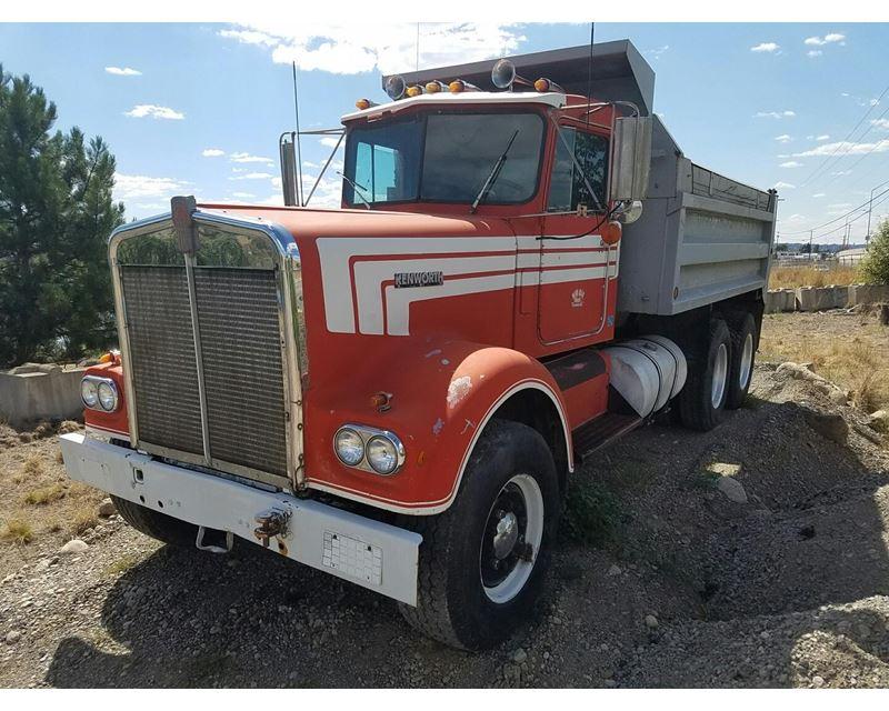 1970 Kenworth W900 Heavy Duty Dump Truck For Sale ...Kenworth Dump Trucks For Sale Washington