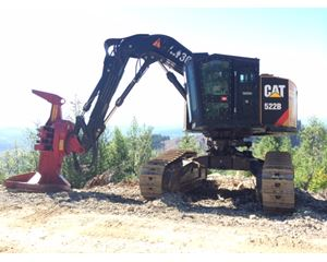 Caterpillar 522b Feller Buncher