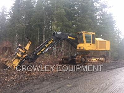 2003 Tigercat 870 Feller Buncher with Hotsaw For Sale