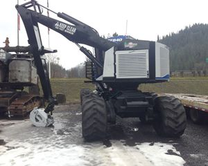 Timber Pro TF840 Forwarder