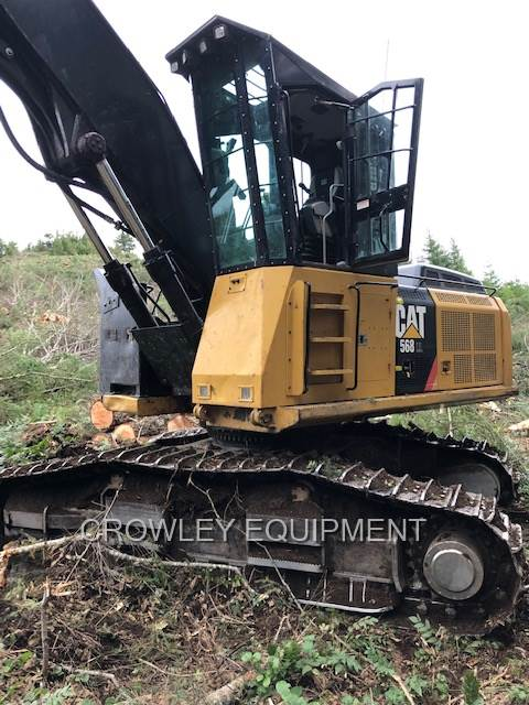 2013 Caterpillar 568 Ll Log Loader For Sale 10 800 Hours