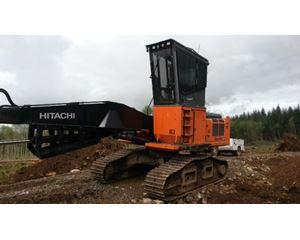 Hitachi ZX210 Log Loader