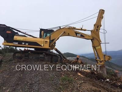 2004 caterpillar 330c road builder excavator for sale eugene or