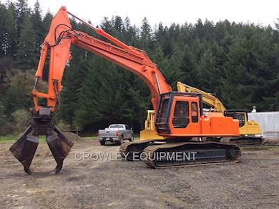 1996 hitachi ex270 lc road builder excavator for sale eugene or