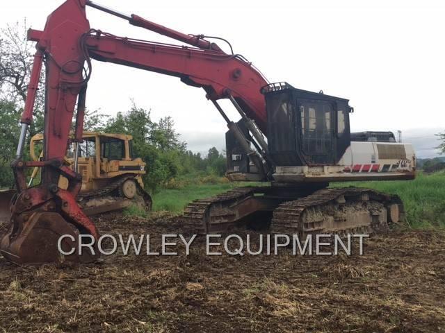 2006 link belt 370lx road builder excavator for sale eugene or