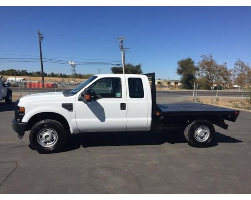 2010 Ford F-250 Flatbed Truck For Sale - West Sacramento ...
