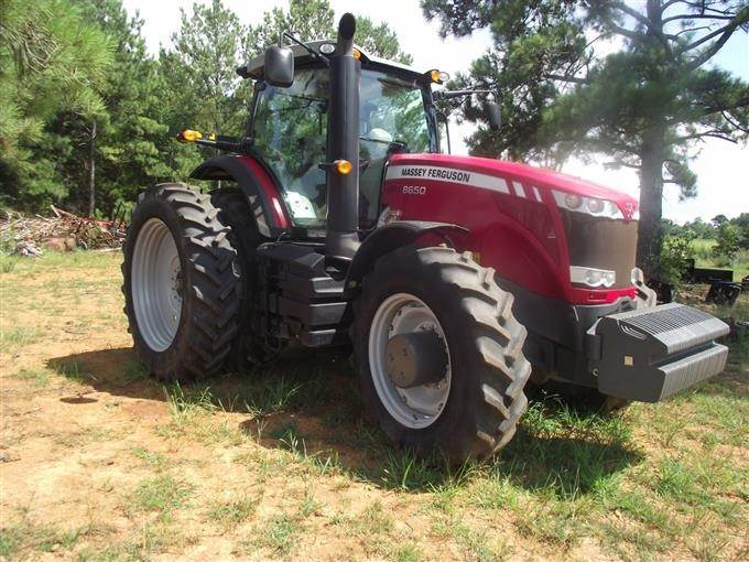 2013 Massey Ferguson 8650 MFWD Tractor For Sale, 699 Hours