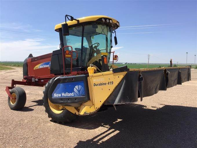 2013 New Holland H8080 Swather For Sale, 1,223 Hours   Lakin