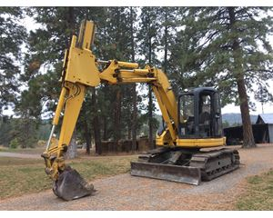 Komatsu PC75 Crawler Excavator
