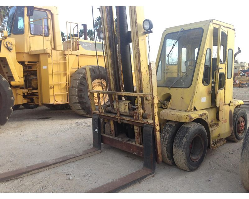 Towmotor v200 mast forklift for sale kalispell mt for Tow motor vs forklift