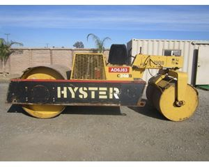 Hyster C340B Smooth Drum Compactor