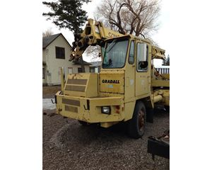 Gradall G3WD Wheeled Excavator