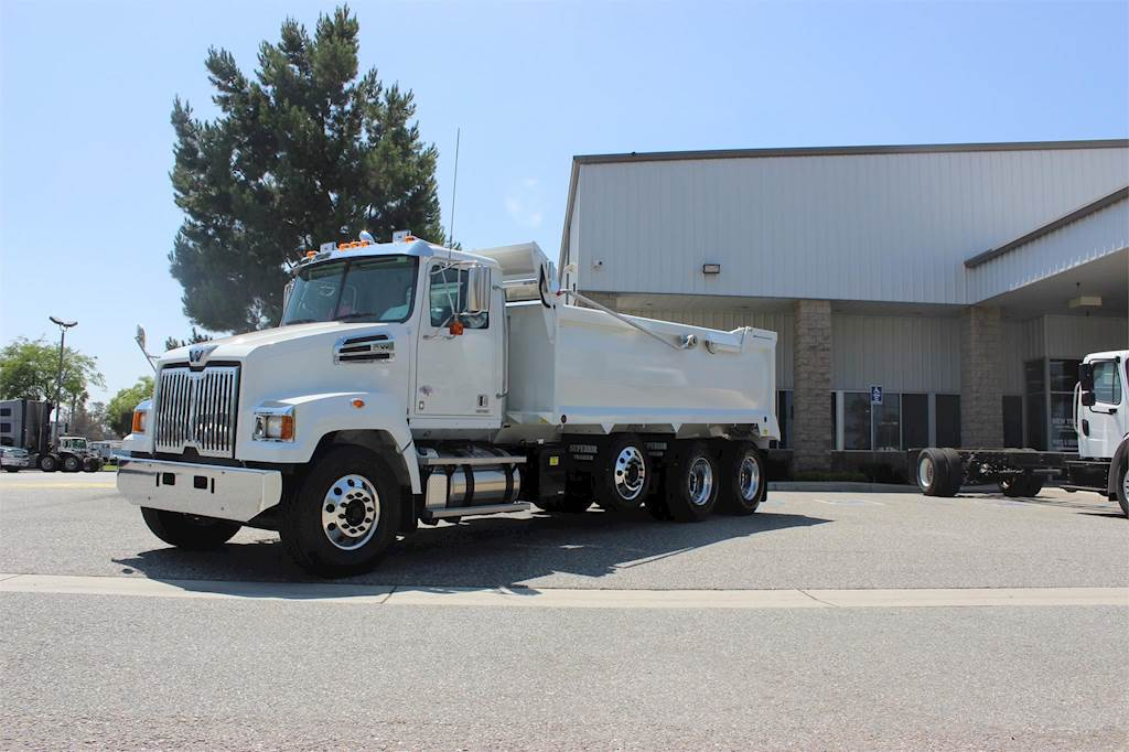 2017 Western Star 4700sf Dump Truck For Sale Fontana Ca
