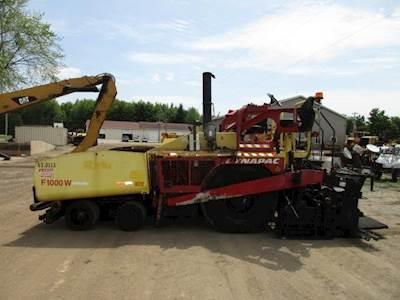 2012 Dynapac F1000W Asphalt Paver