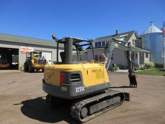 2012 Volvo EC55C Mini Excavator For Sale, 1,500 Hours | Holland, MI |  18E2492 | MyLittleSalesman com