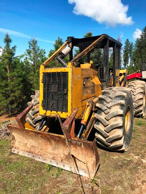1986 CATERPILLAR 518 SKIDDER (Winch Included But Not Installed)