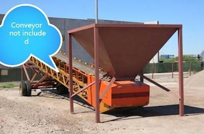 2007 Conveyor Sales 10x10 Feed Hopper