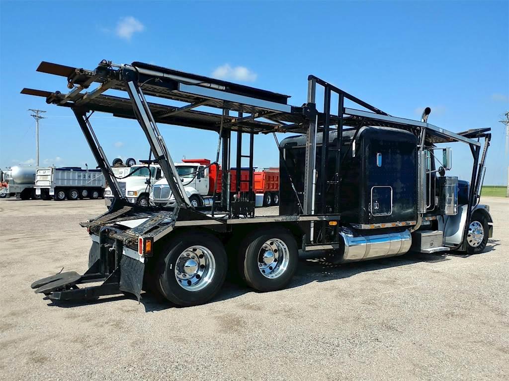 Car Carrier Truck >> 2000 Peterbilt 379 Car Carrier Truck For Sale 1 096 370 Miles